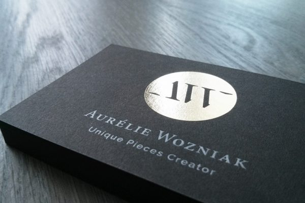 Aurélie Wozniak cartes de visite