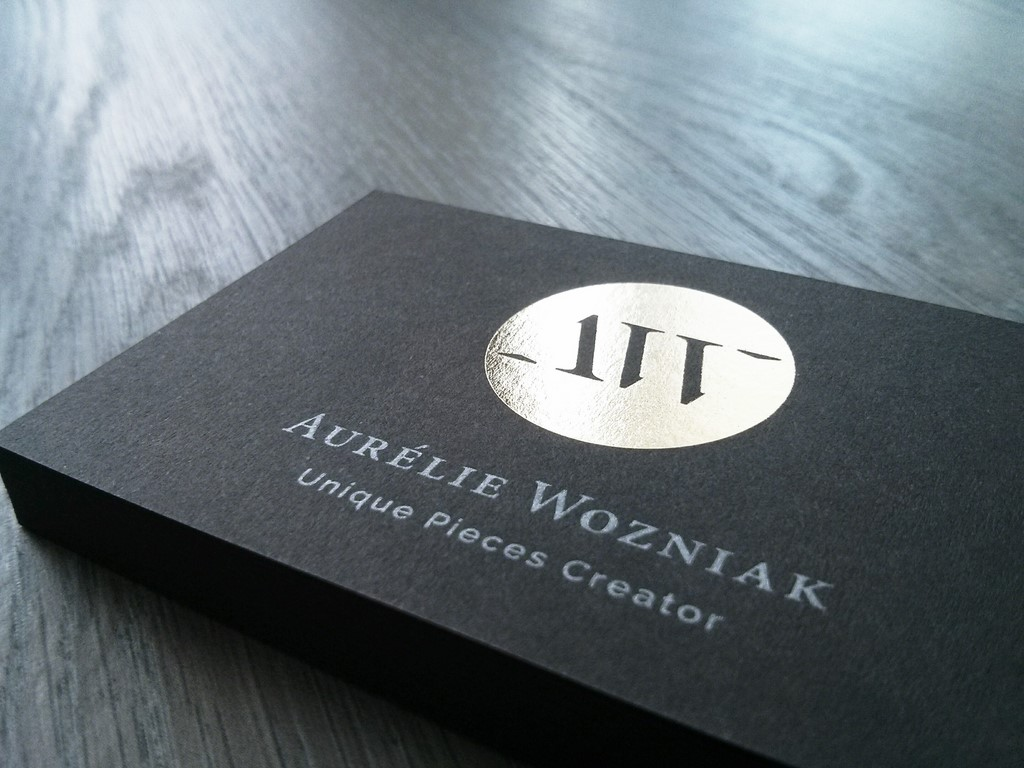 Aurrélie Wozniak cartes de visite