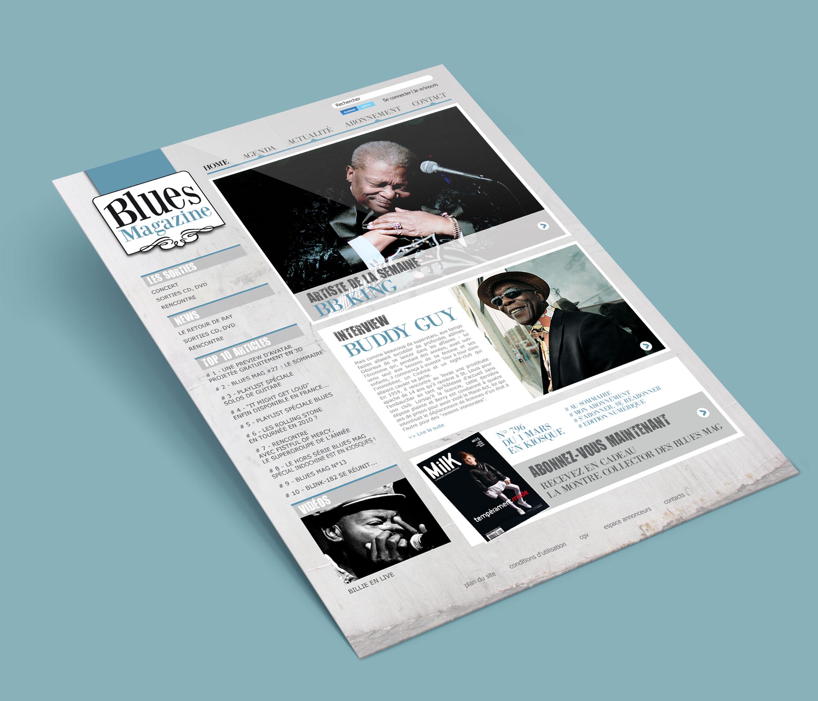 accueil blues magazine cover