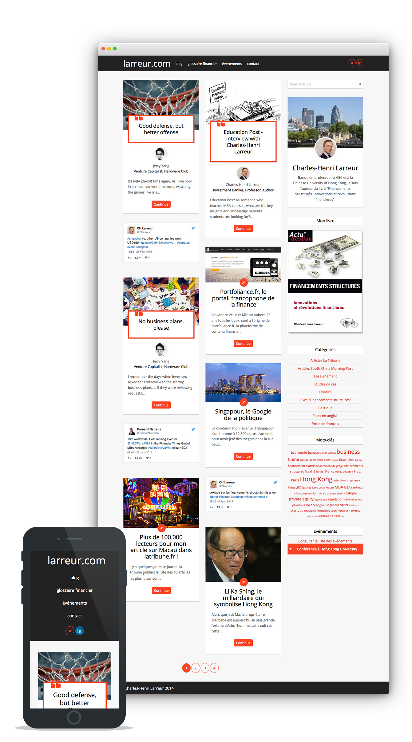 site internet larreur.com
