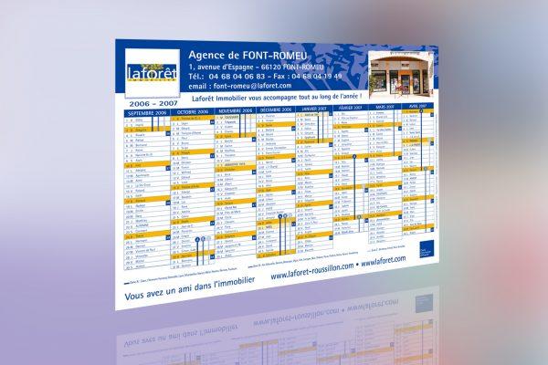 calendrier laforêt immobilier