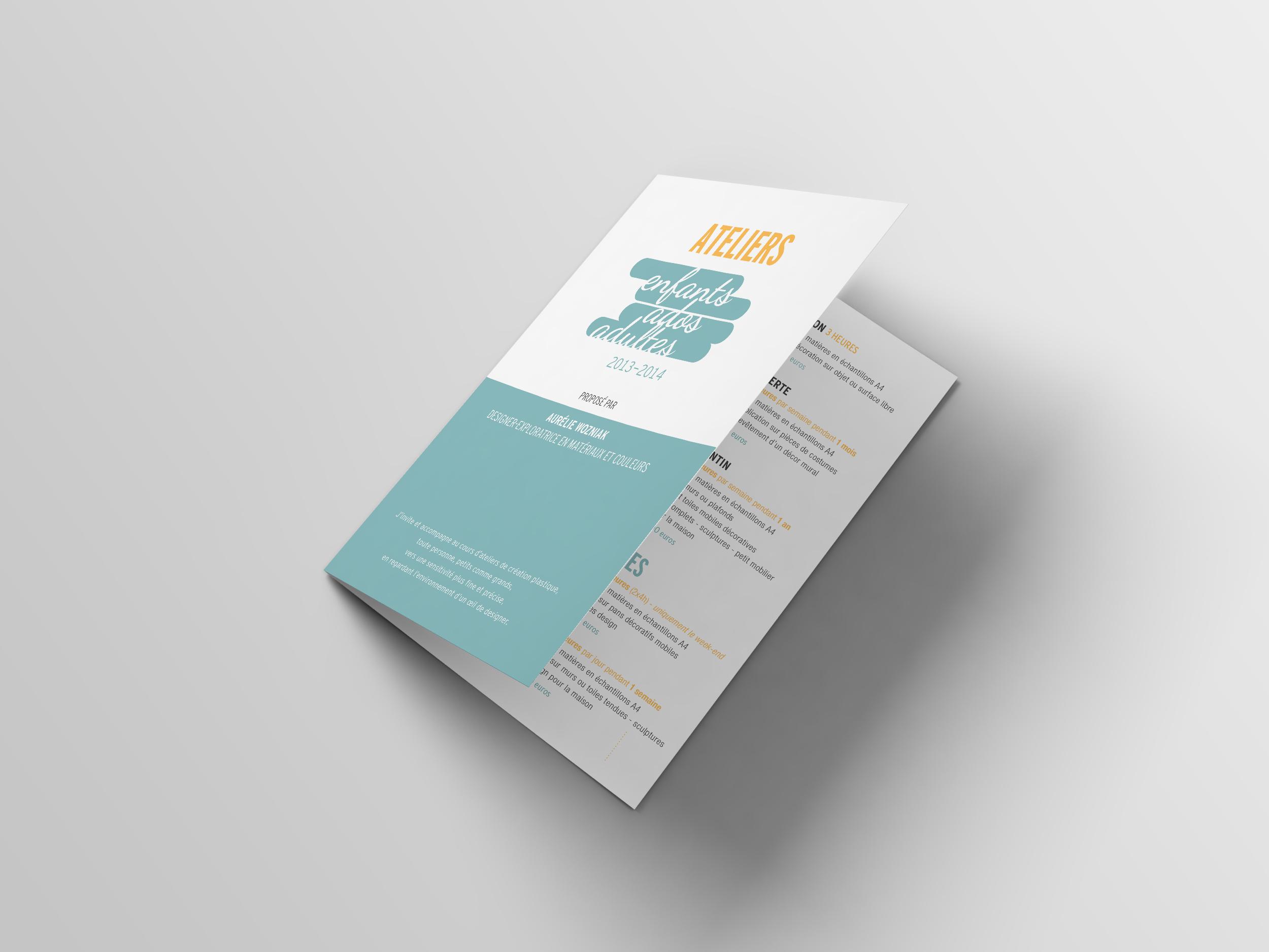 couverture brochure ateliers enfants