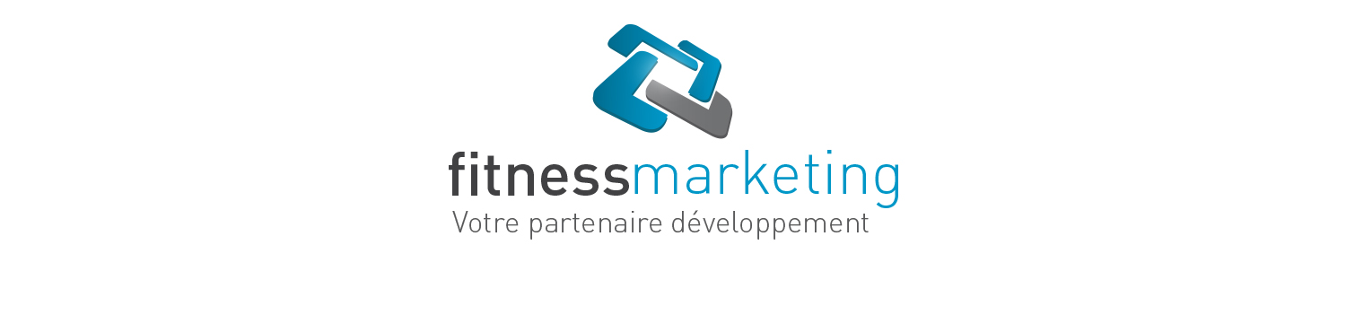 fitness marketing logo