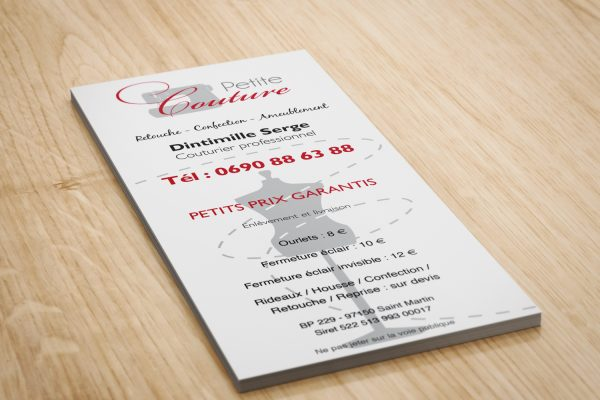 leaflet petite couture