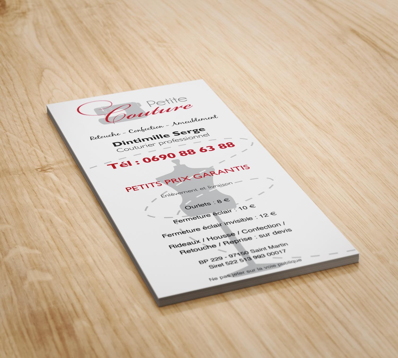 leaflet petite couture