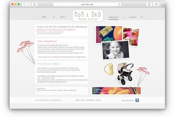 Mum and Dad site web