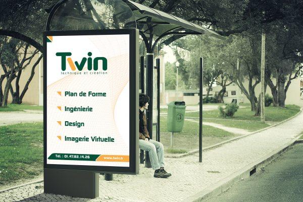 Signalétique Twin