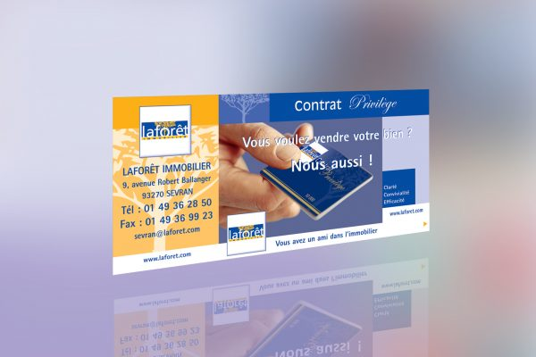 Tract laforêt immobilier