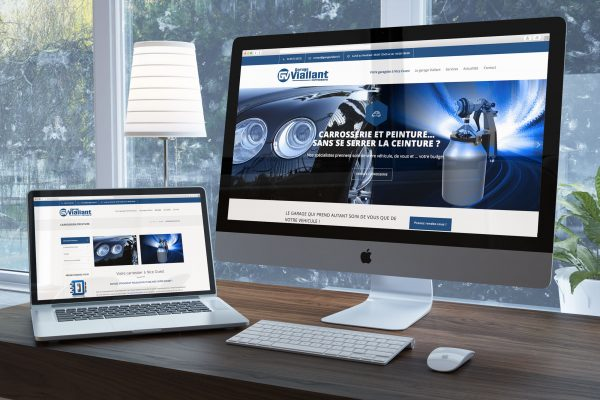 Garage Viallant webdesign