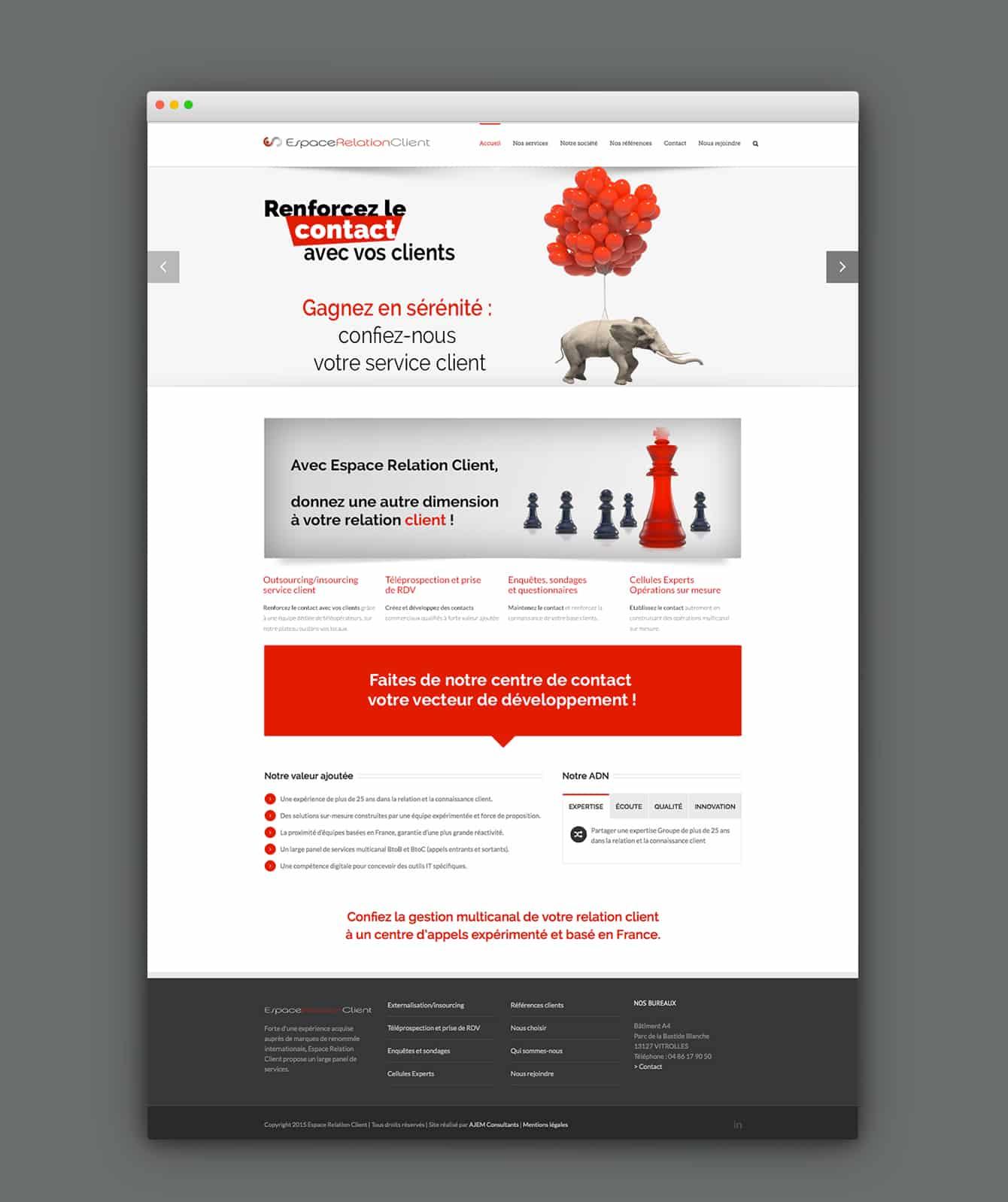 Web Espace Relation Client