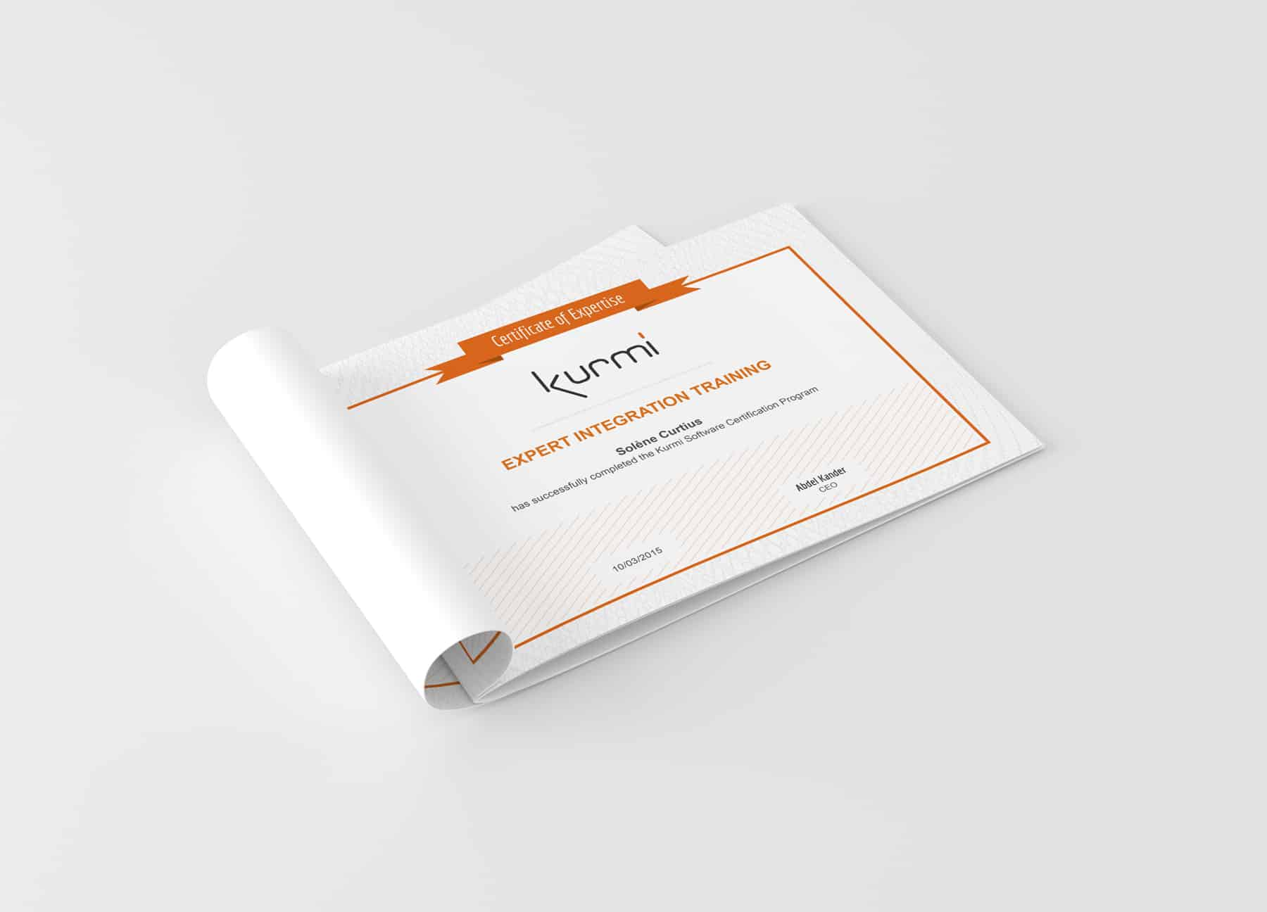 Certificat Kurmi