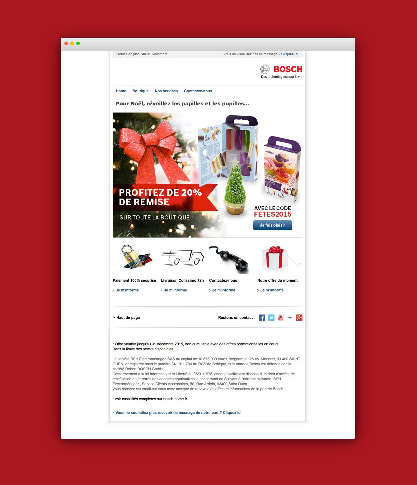 Mailing Bosch