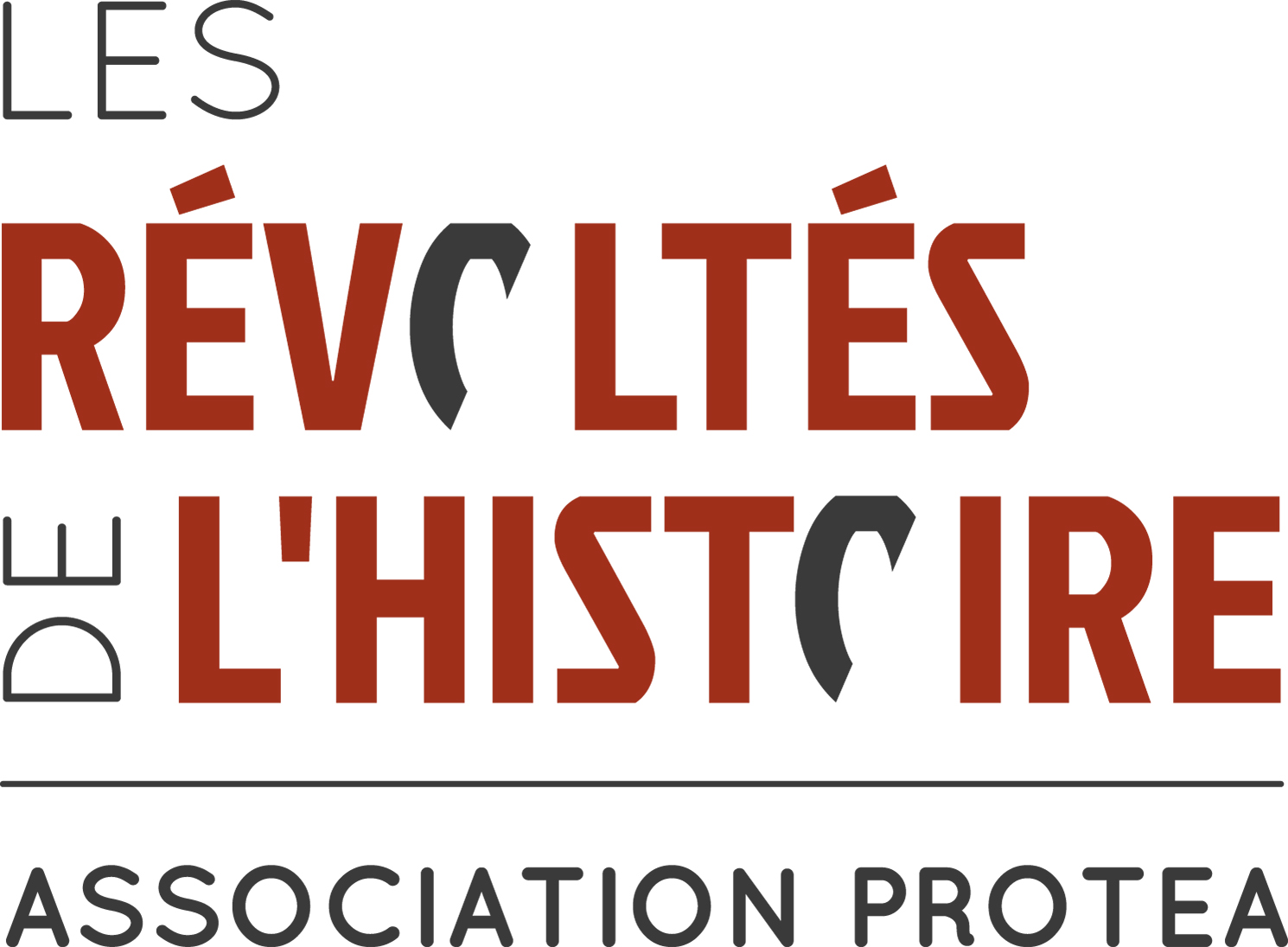 Logo - Les révoltés de l'histoire