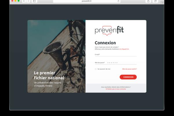 prevenfit login page