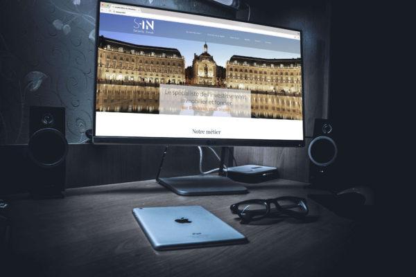 Site internet Serenity Invest