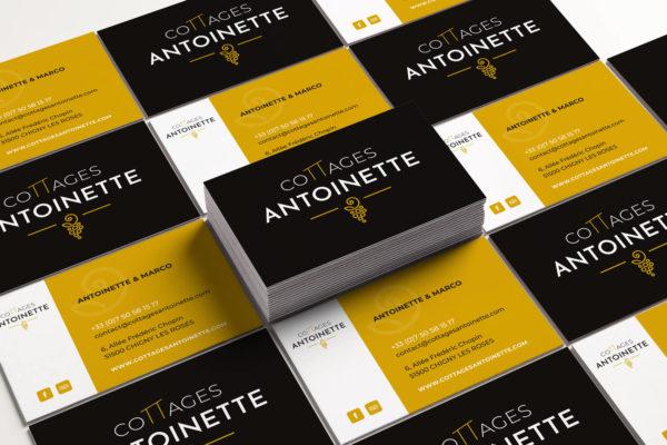 Carte de visite - Cottage Antoinette