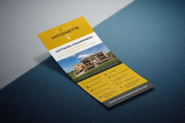 Flyer - Cottages Antoinette