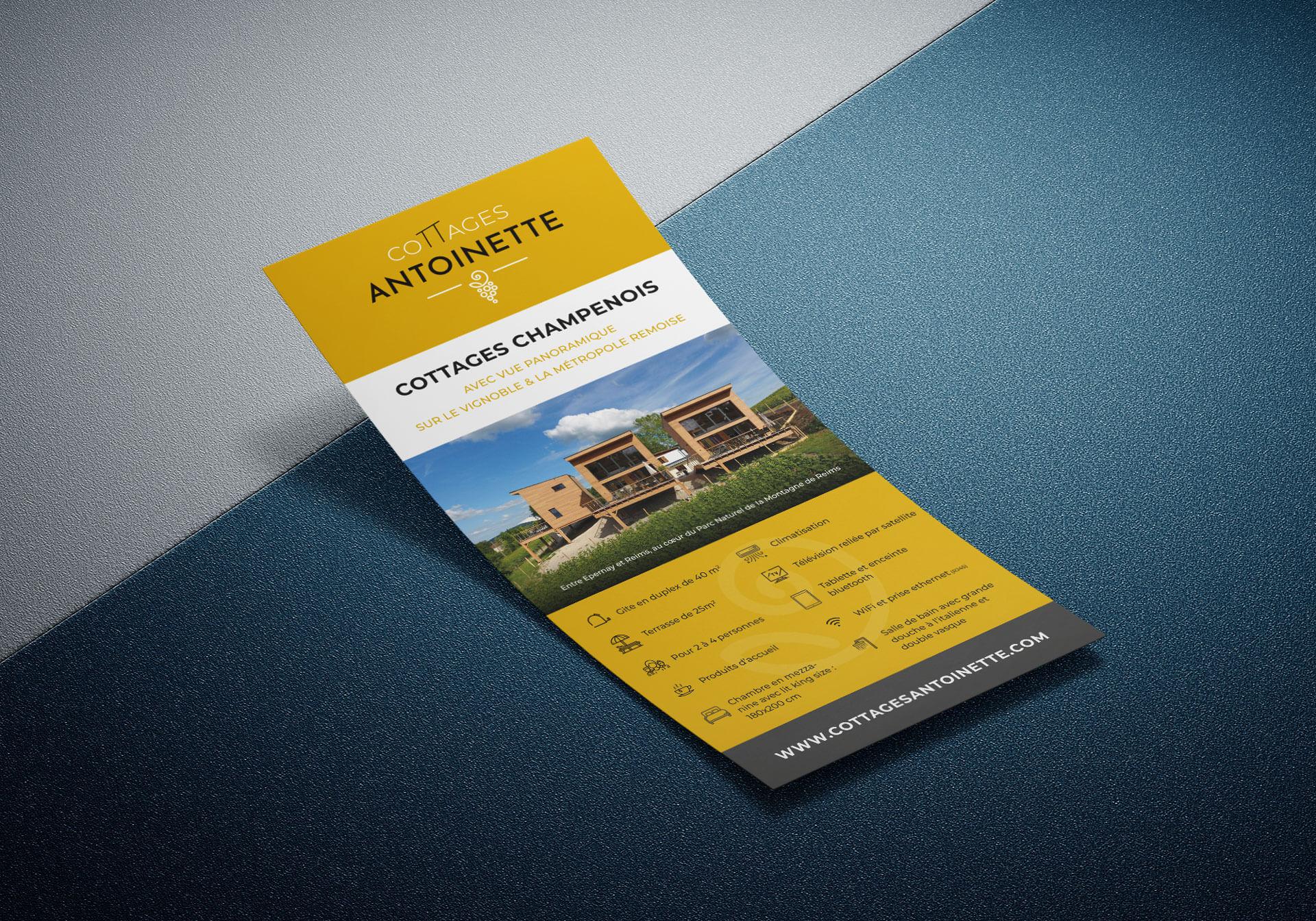 Flyer - Cottages Antoinette