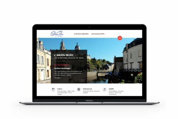 Maquette web - AnjouBleu