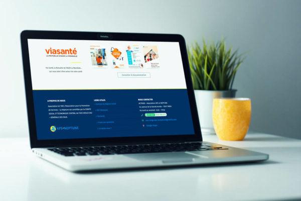 Site internet APS-LA NEPTUNE